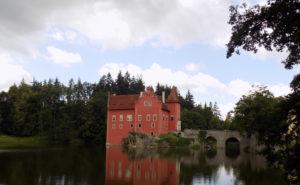 the Červená Lhota castle