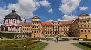 the castle in Jaroměřice nad Rokytou
