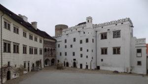 the castle of Jindřichův Hradec