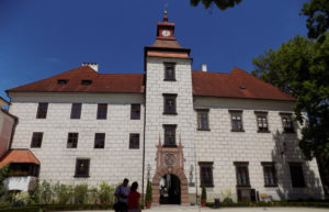 the Třeboň castle