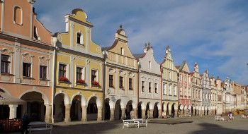 Trip to 2 UNESCO towns of Třebíč and Telč (FROM 31,-EUR PER PERSON)