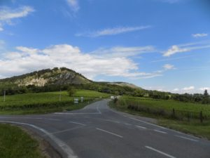 the road to Klentnice