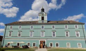 the castle in Dačice