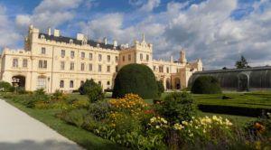 the Lednice chateau