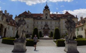 the Valtice chateau