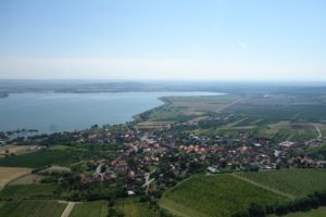 Bavory village and Nové Mlýny Reservoirs