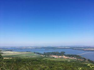 Nové Mlýny Reservoirs with Dolní Věstonice